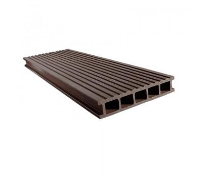 Террасная доска Euro Deck Uno Шоколад