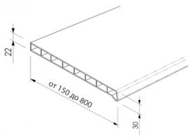 Светлый Дуб 250 мм