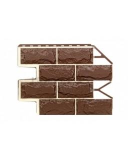 Фасадные Панели Wandstein, Доломит, Темно-коричневый