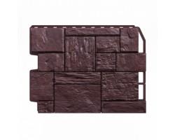 Фасадные Панели Wandstein, Туф, Темно-коричневый