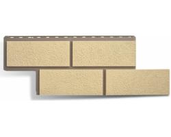 Фасадные Панели Альта-Профиль, Камень Неаполитанский, Слоновая кость