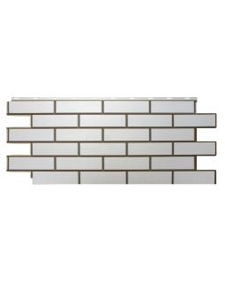 Фасадные Панели Nordside, Гладкий Кирпич, Белый