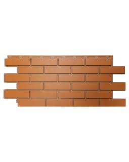 Фасадные Панели Nordside, Гладкий Кирпич, Красный