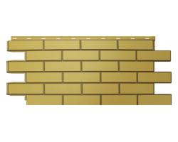 Фасадные Панели Nordside, Гладкий Кирпич, Желтый