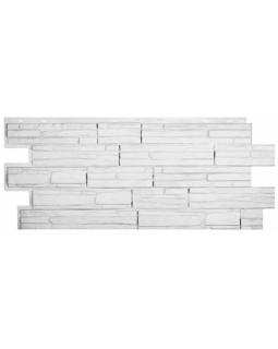 Фасадная панель «T-Siding», Альпийская сказка, белая