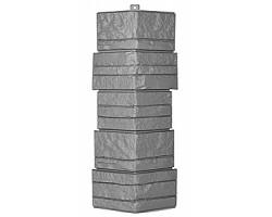 Угол фасадной панели «T-Siding», Альпийская сказка, серый
