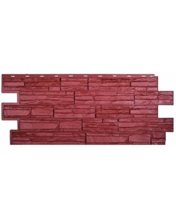 Фасадная панель «T-Siding», Альпийская сказка, красный