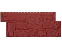 Фасадная панель «T-Siding», Европейский камень красный
