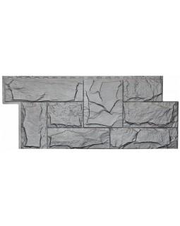 Фасадная панель «T-Siding», Европейский камень серый