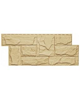 Фасадная панель «T-Siding», Европейский камень желтый