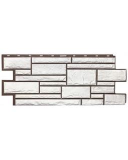 Фасадная панель «T-Siding», Камень белый