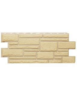 Фасадная панель «T-Siding», Камень желтый