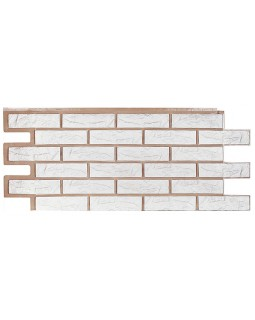 Фасадная панель «T-Siding», Кирпич белый