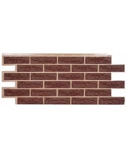 Фасадная панель «T-Siding», Кирпич коричневый