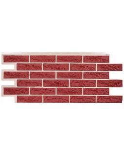 Фасадная панель «T-Siding», Кирпич красный