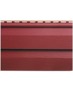 Сайдинг Альта-Профиль Kanada Плюс, Коллекция Премиум, Красный