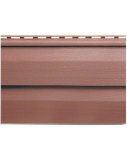 Сайдинг Альта-Профиль Kanada Плюс, Коллекция Премиум, Красно-коричневый